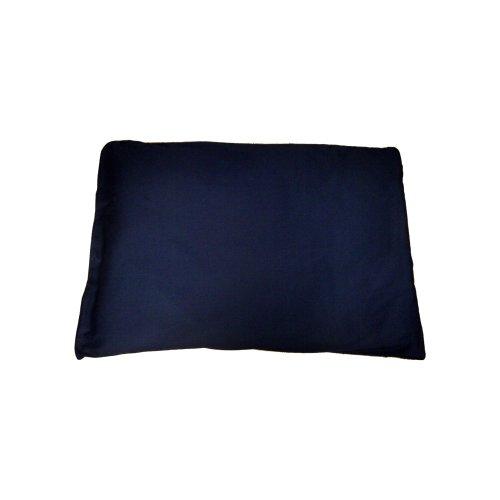 katzeninfo24.de Katzenkissen mit BIO Dinkelspelz und Lavendel 70x50cm dunkelblau