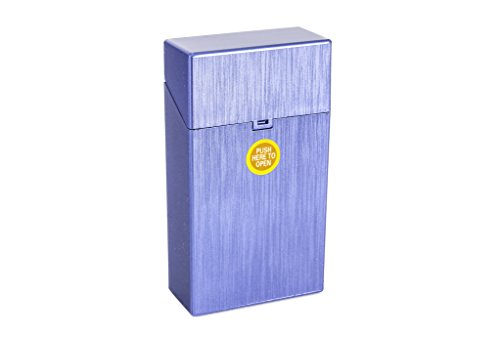 MACEMARO TRADING ZIGARETTENBOX für 20er / 100mm Zigarettenschachteln (blau)