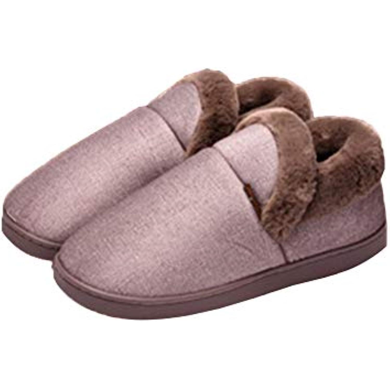 Chaussons Pantoufles Slippers Chaussures Accueil Slippers Pantoufles Paquet De Fond Eacute;pais Moelleux Int eacute;rieur Ext eacute;rieur - B07JQBKJG5 - f8462f