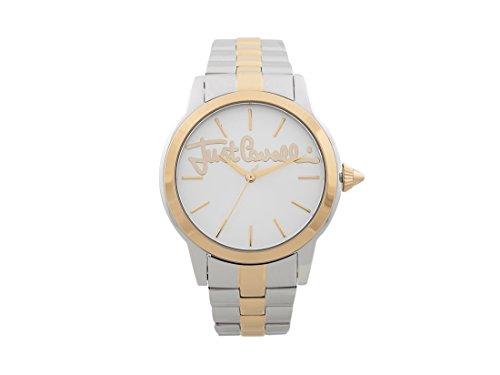 Just Cavalli Reloj Analogico para Mujer de Cuarzo con Correa en Acero Inoxidable JC1L006M0125