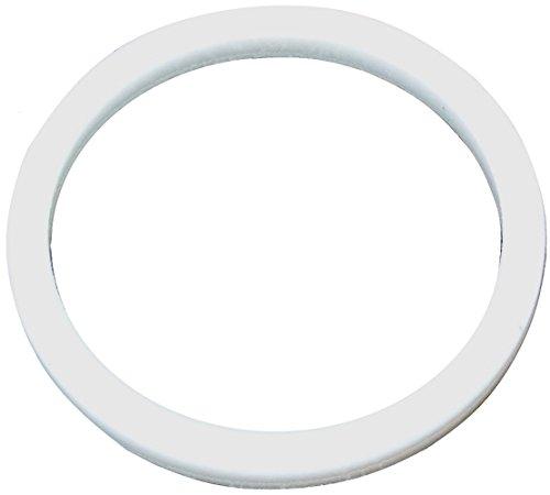 Aerzetix: Weißes technisches Dichtung im PTFE 28mm 3mm 33mm -120...250°C PG21