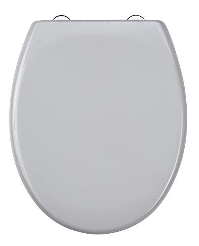 Duroplast WC-Sitz GREY mit Absenkautomatik und Schnellverschluss, ED69310MG