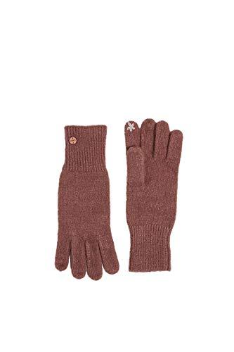 ESPRIT Accessoires Damen 119EA1R005 Handschuhe, Violett (Dark Mauve 540), One Size (Herstellergröße: 1SIZE)