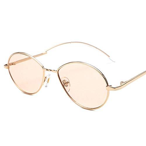 MINGMOU Sonnenbrillen_Neue Sonnenbrillen Europa Und Amerika Small Frame Metall Sonne Außenhandel Mode Oval, C498