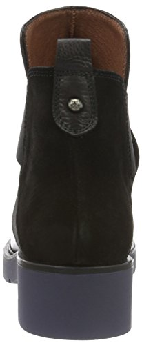 Hispanitas Damen Camden Cowboy Stiefel Schwarz (Soho-i6 Black Crosta-i6 Black)