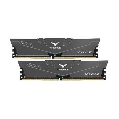 TeamGroup T-Force Vulcan Z 16GB Kit DDR4-2666 2x 8GB PC4-21300U DIMM 288-Pin CL18-18-18 grau