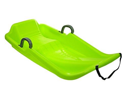 sulov Niños Snow Bob Olympic plástico, verde, 39x 81.5x 16.5cm, 2
