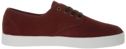 Emerica Laced By Leo Romero-M, Baskets mode homme Rouge (Burgundy/White)