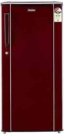 Haier 190 L 3 Star Direct Cool Single Door Refrigerator(HED-19TBR, Basic/Burgandy Red)