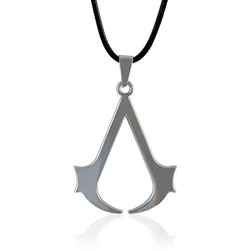 Sarah Assassin's Creed Pendant Locket for Men -Silver