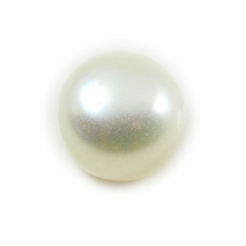 Gemsonclick perla preziosa 6carati Origianl rotonda naturale gemma sciolto - 4 C Gemme Gioielli