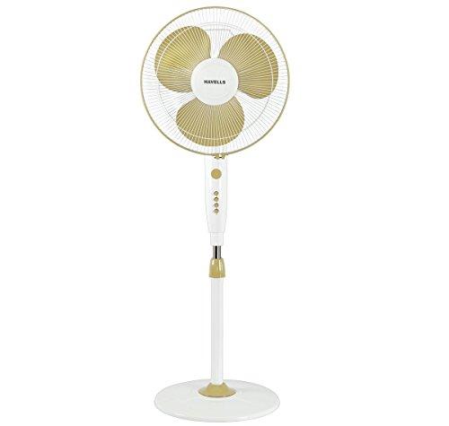 Havells Trendy 400mm 50-Watt  Pedestal Fan (Grey)