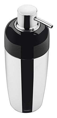 COSMIC accesorio de baño dosificador de jabón organics cromado negro 2580604