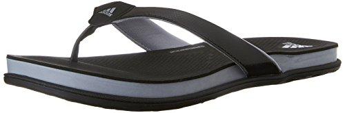 Adidas Performance Supercloud Plus-Thong W Sportlich Sandale, schwarz / mid grau / silber, 5 M Us Black/Mid Grey/Silver