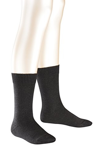FALKE Boy's Comfort Wool Plain Calf Socks