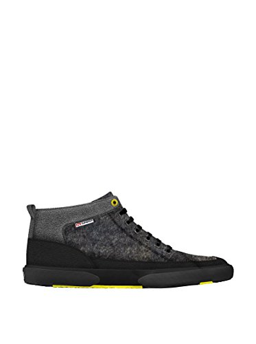 Sneakers - 2209-feltmicrofibersueu Dk grey-Black-GreySt
