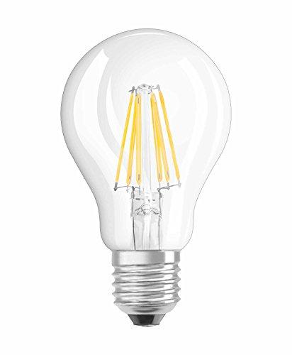 Osram Retrofit Classic A Lámpara LED E27, 7.5 W, Blanco, 10.5 x 6 x 6 cm