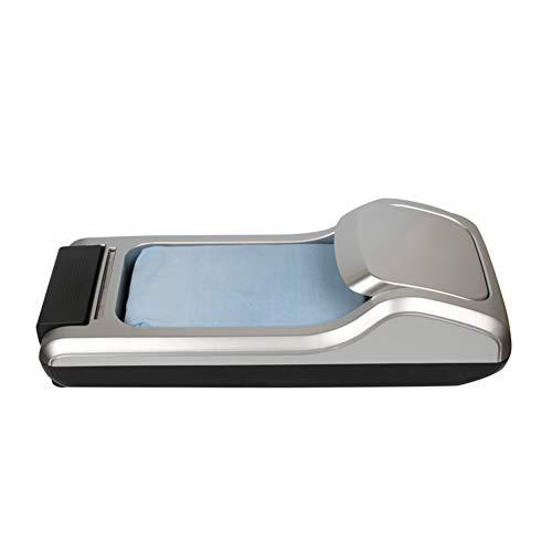 Tragbarer Überschuhspender, Überschuh-Maschine, Automatischer Schrittfuß-Wegwerf-Smart-Shoe-Film-Hauptmaschine,B