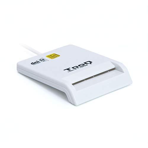 Tooq TQR-210W - Lector Externo DNI electrónico