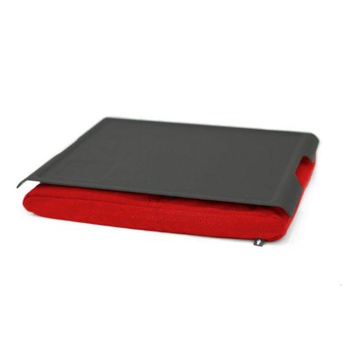 Bosign 261365 - Laptray - Kissentablett - antislip - schwarz/rot