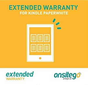 Onsitego 2 Year Extended Warranty for Kindle Paperwhite (Email Delivery)