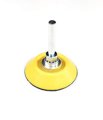Craft-Equip 50mm Klett-Teller medium mit 6mm Spanndorn 1205