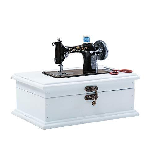 Shabby Chic Y714 - Máquina coser estilo vintage