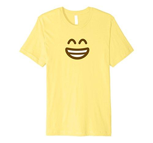 Halloween Happy Emoji Kostüm T-Shirt