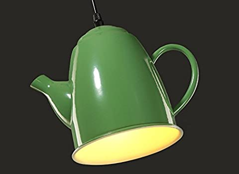 Miyare Teapot LED Hanging Light Modern Metal Pendant Light Art