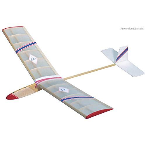 matches21 Wind Flyer 2 735 mm Bausatz f. Kinder Werkset Bastelset ab 13 Jahren (Balsa-flugzeug-modelle)