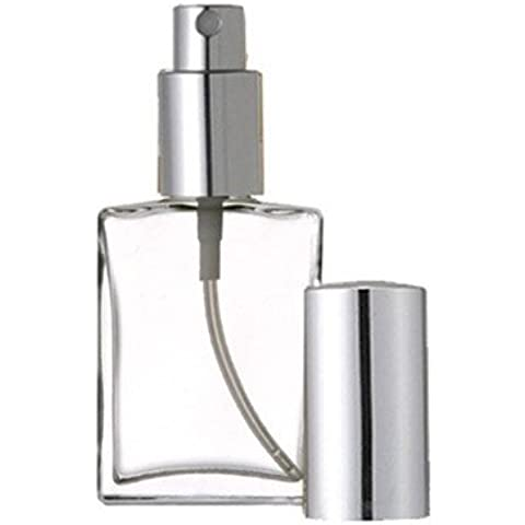 1.0oz/30ml Square Perfume bottiglia di vetro by Me Fragrance -
