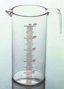 Comair Verre doseur 250 ml, transparent, avec graduation