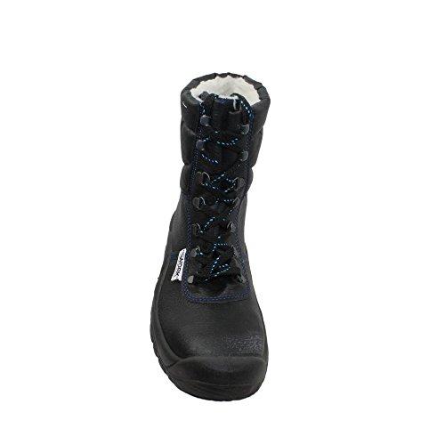 Fort work wI-chaussures de sécurité pour uK s3 cI berufsschuhe businessschuhe chaussures bottes chaussures noir Noir - Noir