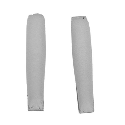 Vektenxi Premium-Qualität Ersatz Stirnband Kissenpolster mit Klebeband für PX200 Kopfhörer grau