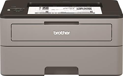 Brother HL-L2350DW Kompakter S/W-Laserdrucker (30 Seiten/Min., A4, echte 1.200x1.200 dpi, Duplexdruck, 250 Blatt Papierkassette, USB 2.0, WLAN) (Drucker Papier Mit Designs)