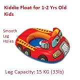 #3: Kiddie Float Swimming Ring, Inflatable Swim Pool Seat Toddler Water Float Ring Tube Boat for Kids Ages 1-2 Years - 29