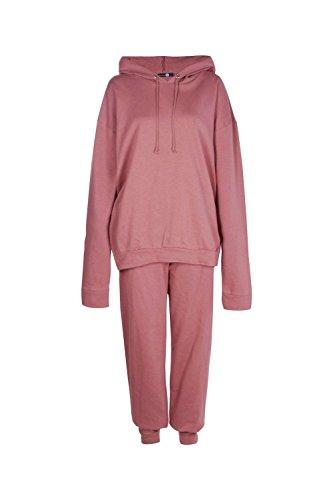 Dusky Pink Femmes Tall Azure Hoody & Jogger Set Dusky Pink