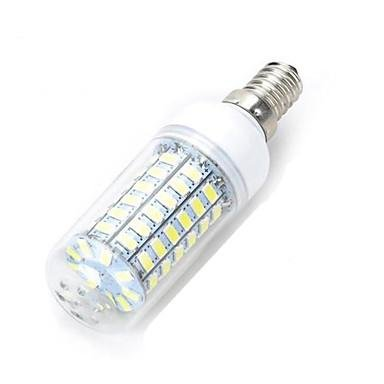 3Stück 12W LED Glühbirne, 120W Glühbirnen ersetzt, 1200lm 69–5730SMD Warm Weiß/kühles Weiß LED Mais Licht AC (220~ 240V), COLDWHITE-E14, E14, 12.0 wattsW