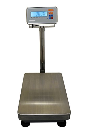 IFS 300 Platform Checkweighing Floor Scale 400 x 500mm Plate Size 300kg x 20g Capacity IP68 Stainless Steel Indicator