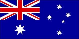 Grand Drapeau Australie - 152 x.