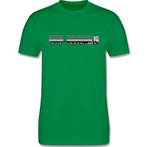 Andere Fahrzeuge - Lastzug - Herren Premium T-Shirt Grün