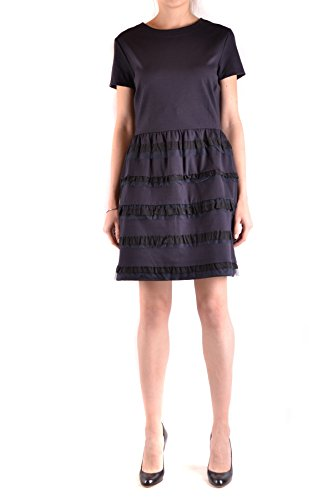 Red Valentino Damen Mcbi249052o Blau Viskose Kleid