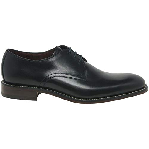 Loake Drake Mens Formal Lace Up Shoes 9.5 Black