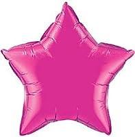 Palloncino in Mylar Rosa Carico - Magenta - Fucsia a forma di Stella - Palloncino in Mylar Rosa a forma di Stella per Elio - produttore: Amscan