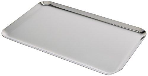 neoLab 2-1327 Instrumententablett aus Edelstahl, 290 mm x 185 mm