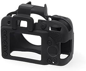 EasyCover Silicone Protective Camera Cover / Case for Nikon D3400 Black