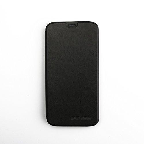 Guran® PU Leder Tasche Etui für Doogee X9 PRO Smartphone Flip Cover Stand Hülle Case-schwarz