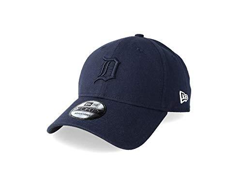 A New ERA Herren Essential Jersey 9forty Dettig Kappe, Marineblau, Einheitsgröße (Detroit Kleidung Tigers)