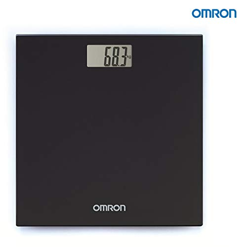 Omron HN 289 (Black) Automatic Personal Digital Weight Machine With Large LCD Display and 4 Sensor Technology For Accurate Weight...