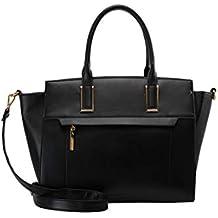 c3d52c3df840f Anna Field Henkeltasche für Damen - Handtasche mit abnehmbarem  Schulterriemen - Tasche zum Umhängen - Elegante